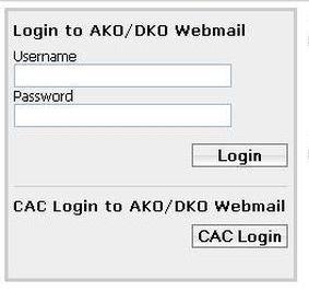 AKO Webmail Login | AKO Mail Login