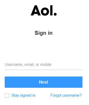 AOL Webmail Login | AOL Mail Login