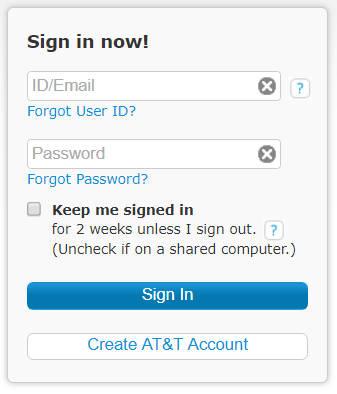 AT&T Webmail Login | AT&T Mail Login