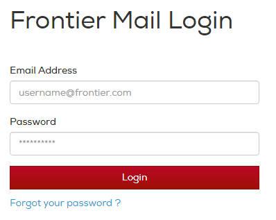 Frontier Webmail Login | Frontier Mail Login