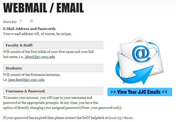John Jay Webmail Login | John Jay Mail Login