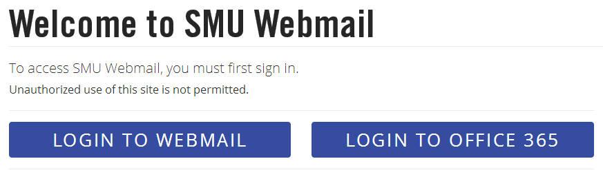 SMU Webmail Login   SMU Mail Login